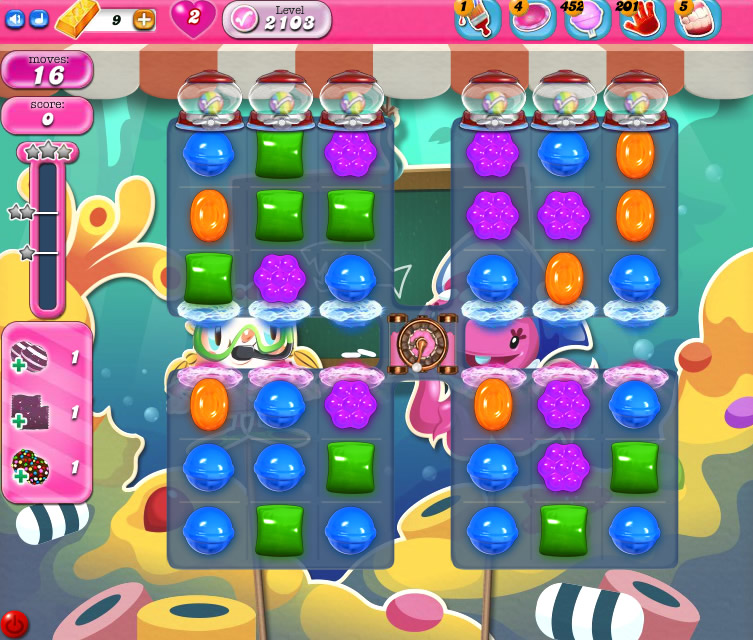 Candy Crush Saga level 2103