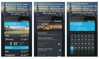 5 Aplikasi Adzan Dan Waktu Sholat Untuk Android