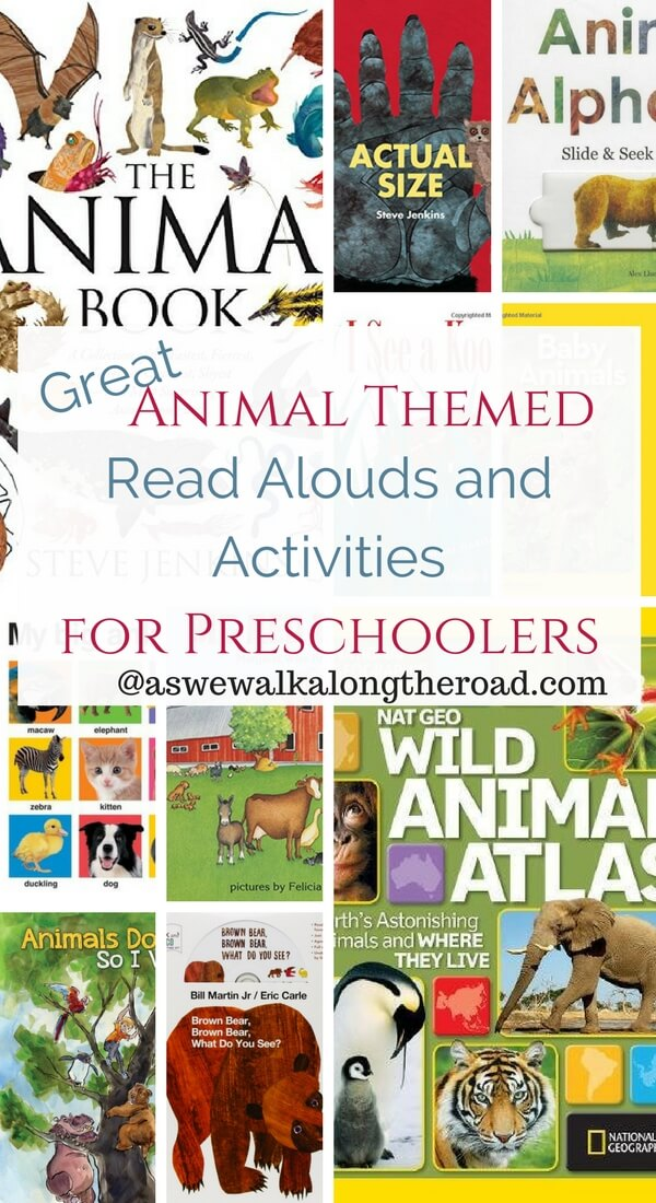 Animal books and activities for preschoolers