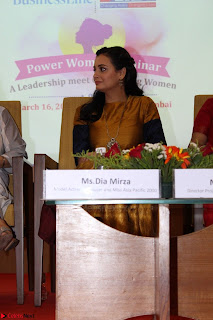 Dia Mirza Attends Power Women Seminar To Celete Womens Day 022.JPG