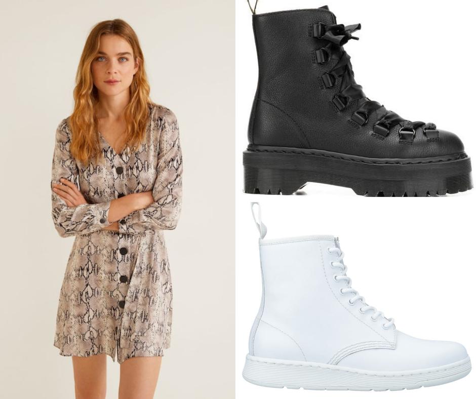 7 Ideas De Looks Para Primavera 2019 Vestidos Con Botines