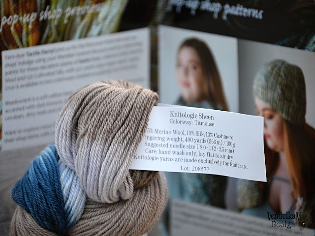 Yarn and magazine