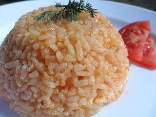 Tomato Pilaf (Domatesli Pilav)