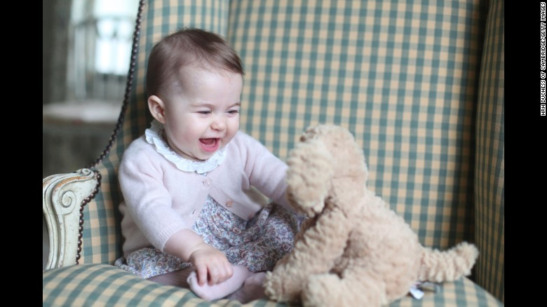 New Pictures Of Princess Charlotte Intelligent India