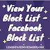 View your block list | Facebook block list