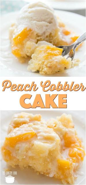 Peach Cobbler Cake Mix Recipe