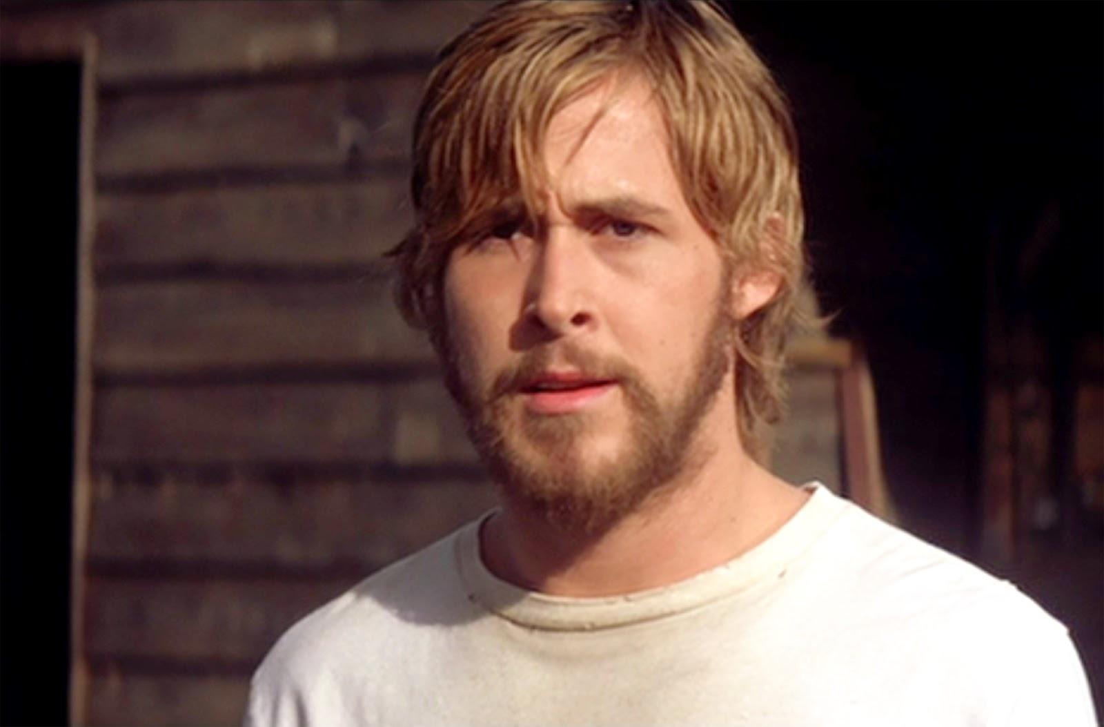 Ryan gosling beard notebook