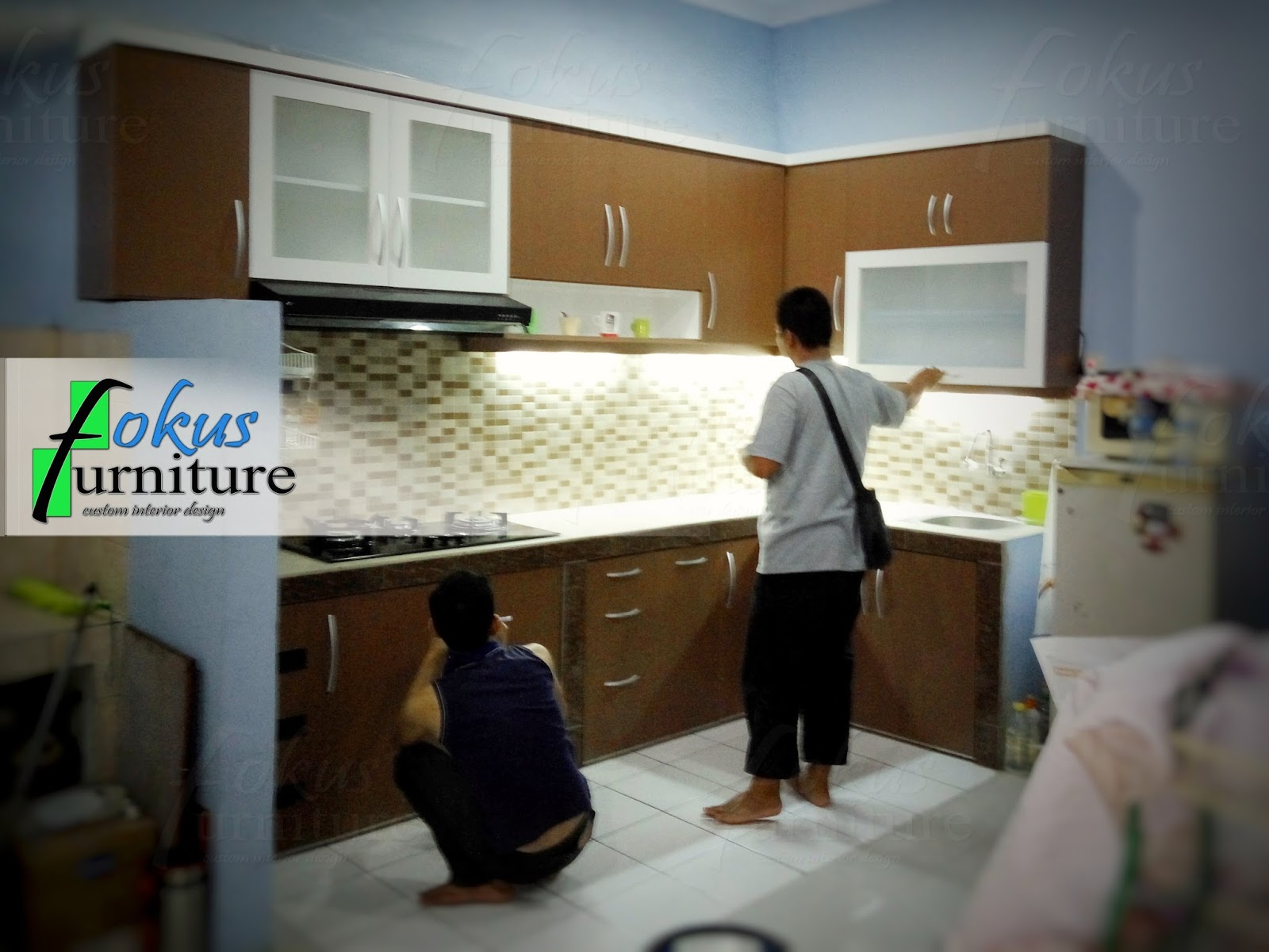 Kitchen set minimalis lemari pakaian jakarta harga murah for Kitchen set jakarta timur