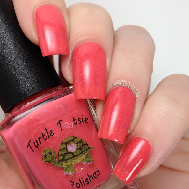 Turtle Tootsie Polishes-Passion Fruit Spray