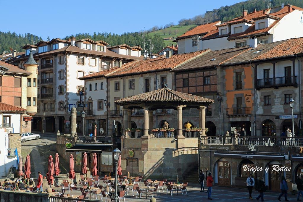 Plaza del capitán Palacios, Potes