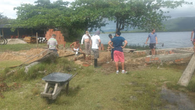 Comunidade do Marujá realiza diversas ações de melhoramento no Bairro