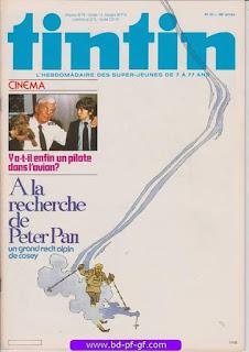 Tintin-numéro 23, année 38, 1983, Peter Pan