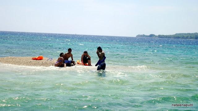 Takat Sagele, Pulau Moyo