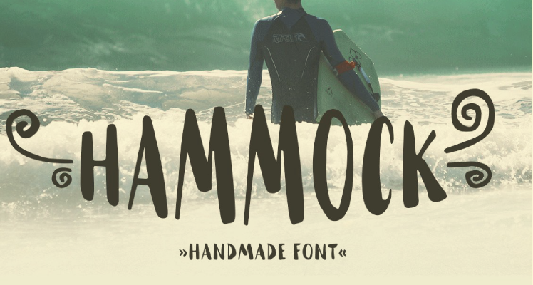 Hammock font free preview