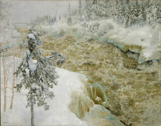 Galen Kallela Imatra hiver