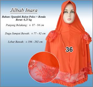 Grosir jilbab renda syar'i terbaru desain cantik harga murah