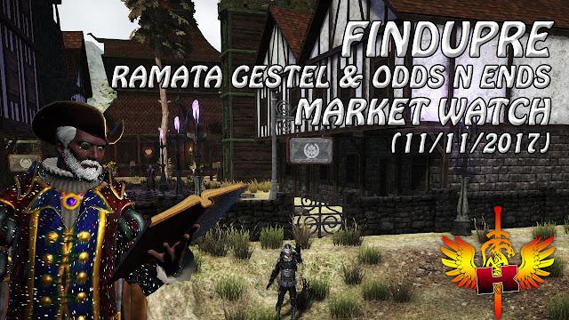 Shroud of the Avatar • Findupre - Ramata Gestel & Odds n Ends (11/11/2017)