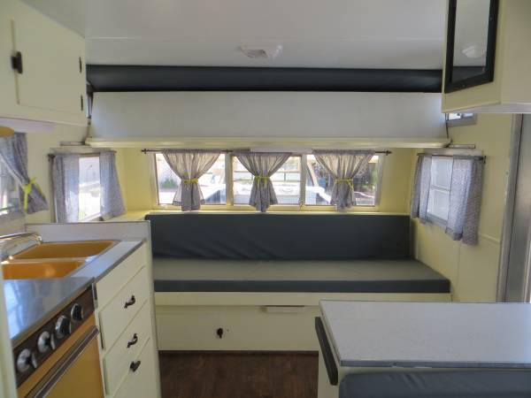 Nice Small Travel Trailer 1970 Komfort 14 RV amp Camper