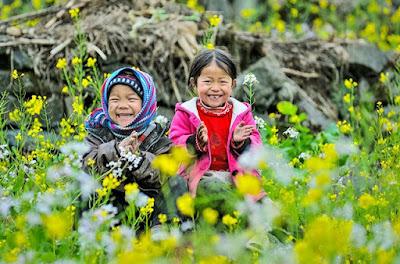 nụ cười trẻ thơ mộc châu