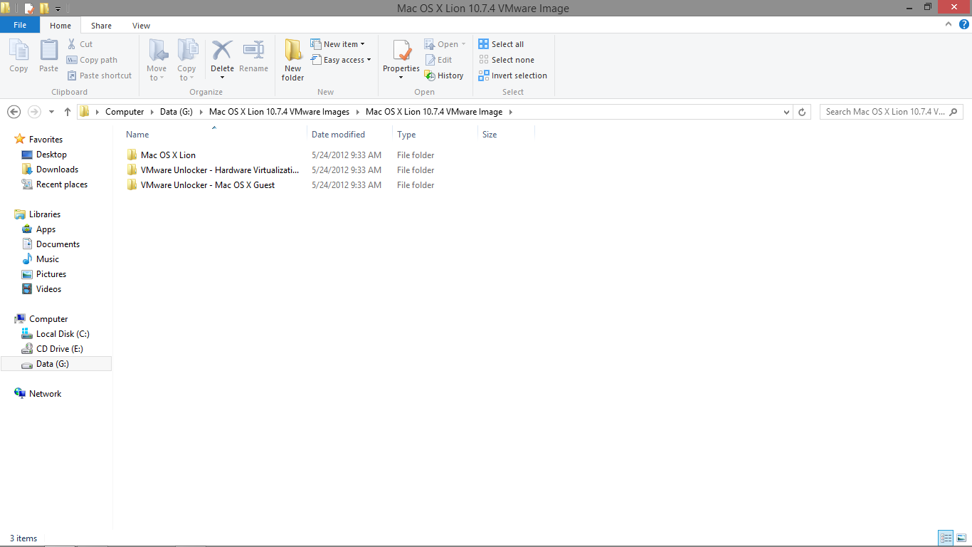 Mac OS X 10 8 Mountain Lion on Vmware Workstation 9 ~ Everyday-Geeks