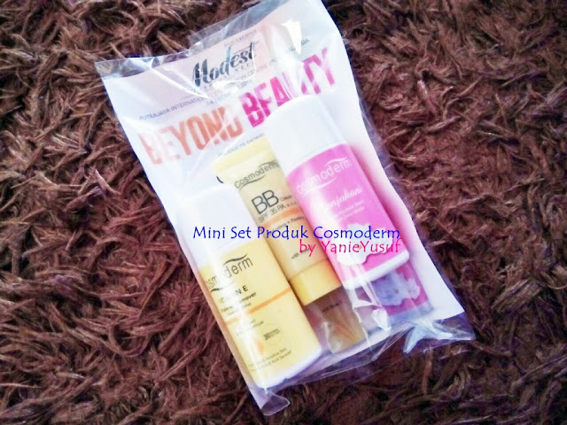 Giveaway Cosmoderm KL Modest Fashion Week by YanieYusuf