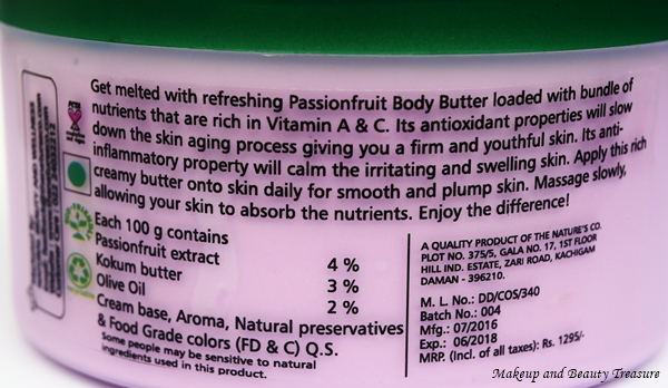 The Nature's Co Body Butter