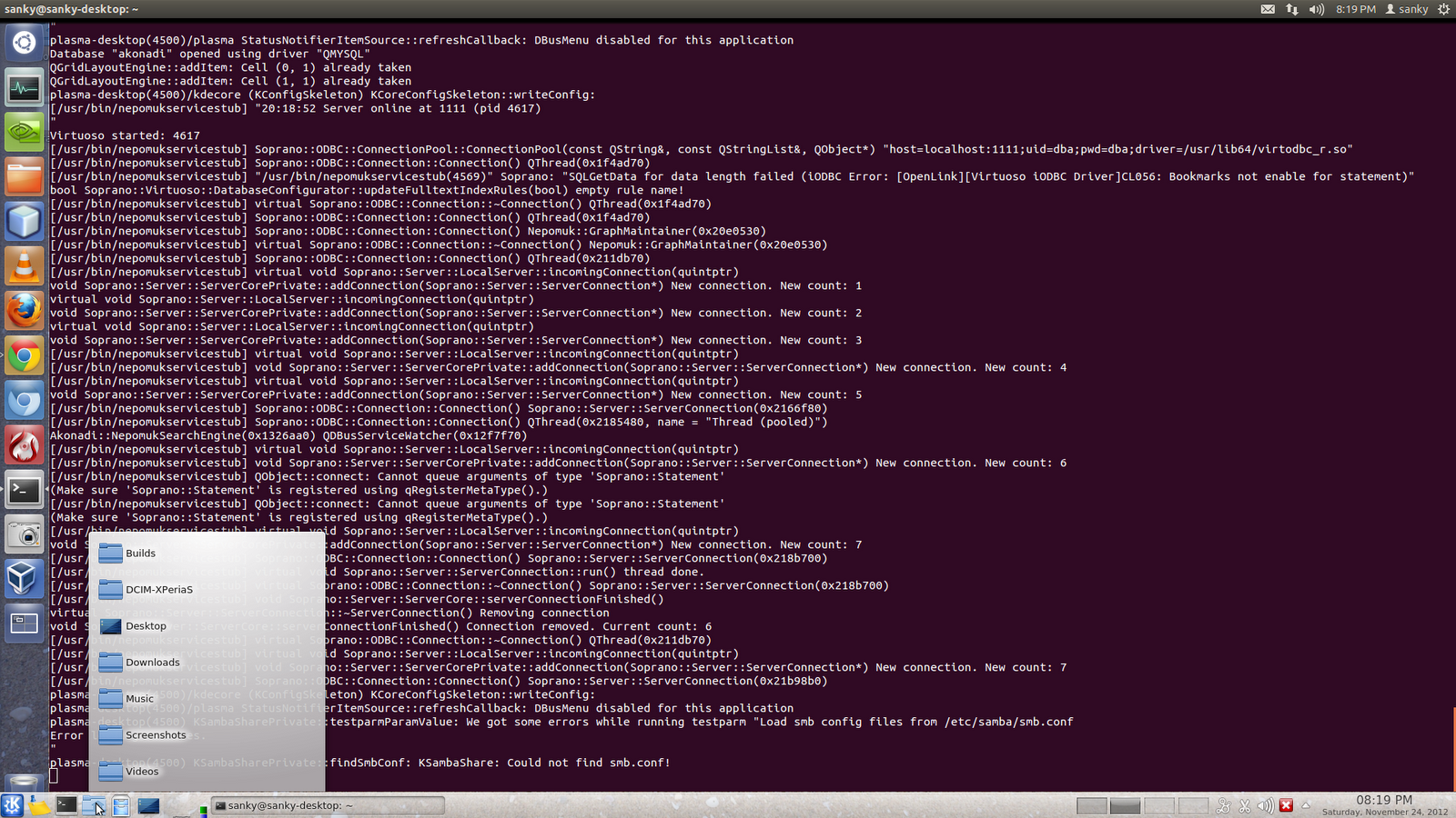 My experiments with Linux: KDE over ssh