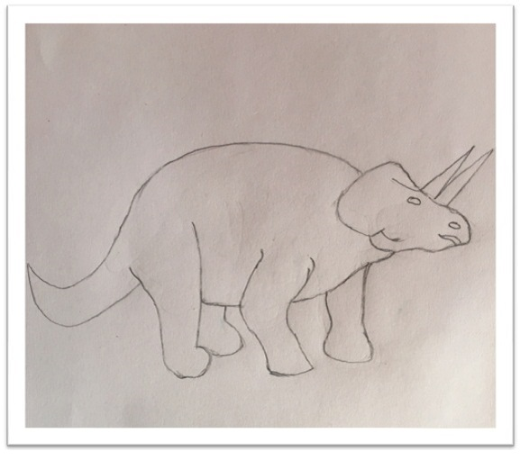 Draw Dinosaur Cartoon