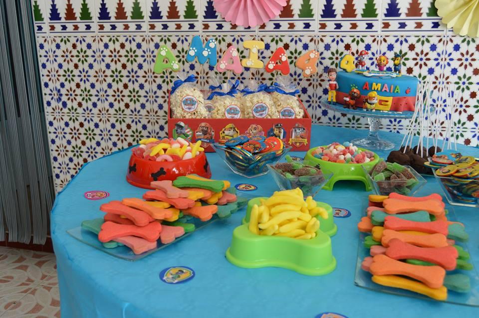 mis dulces sue os mesa dulce patrulla canina
