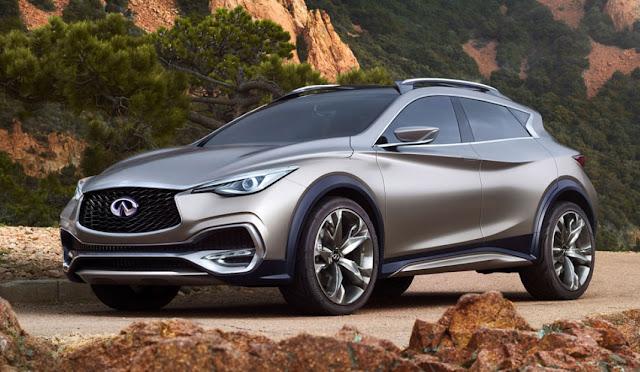 Nuevo infiniti QX30 Concept