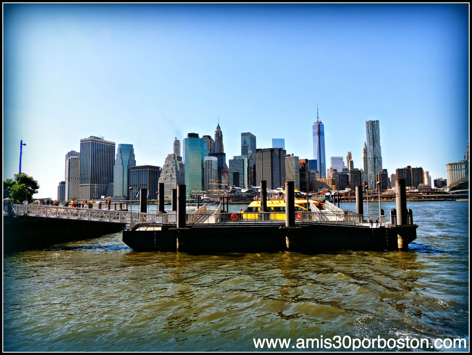 Segunda Visita a Nueva York: Vistas desde Brooklyn