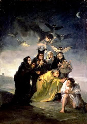 The Witches' Sabbath - Francisco Goya