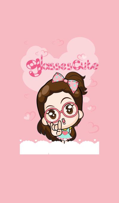 Cupcakes - glasses cute girl