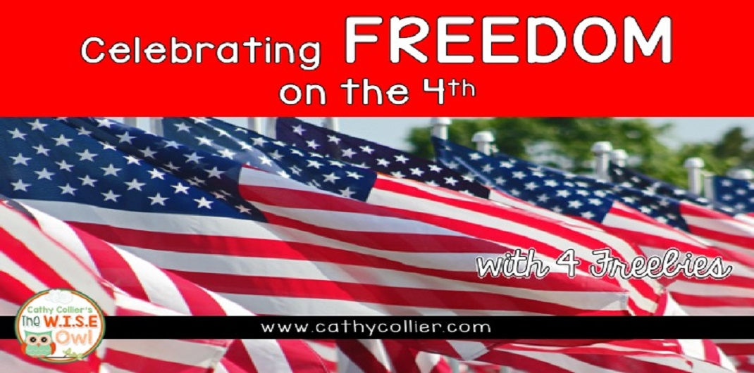 Here are 4 Freebies to celebrate FREEdom on the 4th of July. a491b1cbc