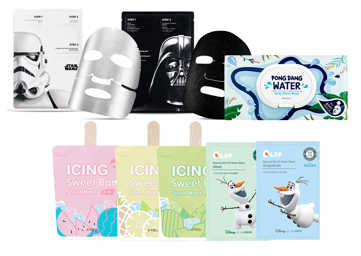 Beauty Wishlist Sheet masks