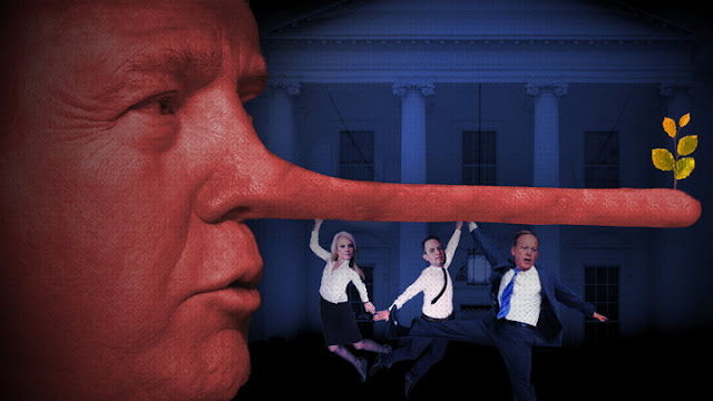 The First 100 Lies: The Donald James Trump Team's Flurry Of Falsehoods