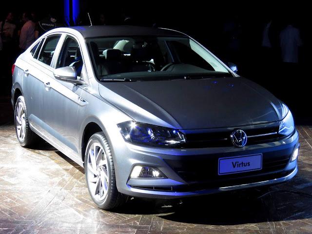Volkswagen Virtus 2018 - Preço
