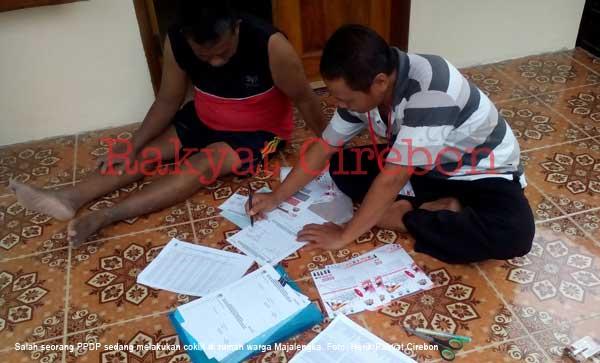 petugas pemutakhiran data pemilih kebingungan cek data pemilih