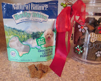 Natural Balance Belly Bites dog treats are grain free, semi moist treats
