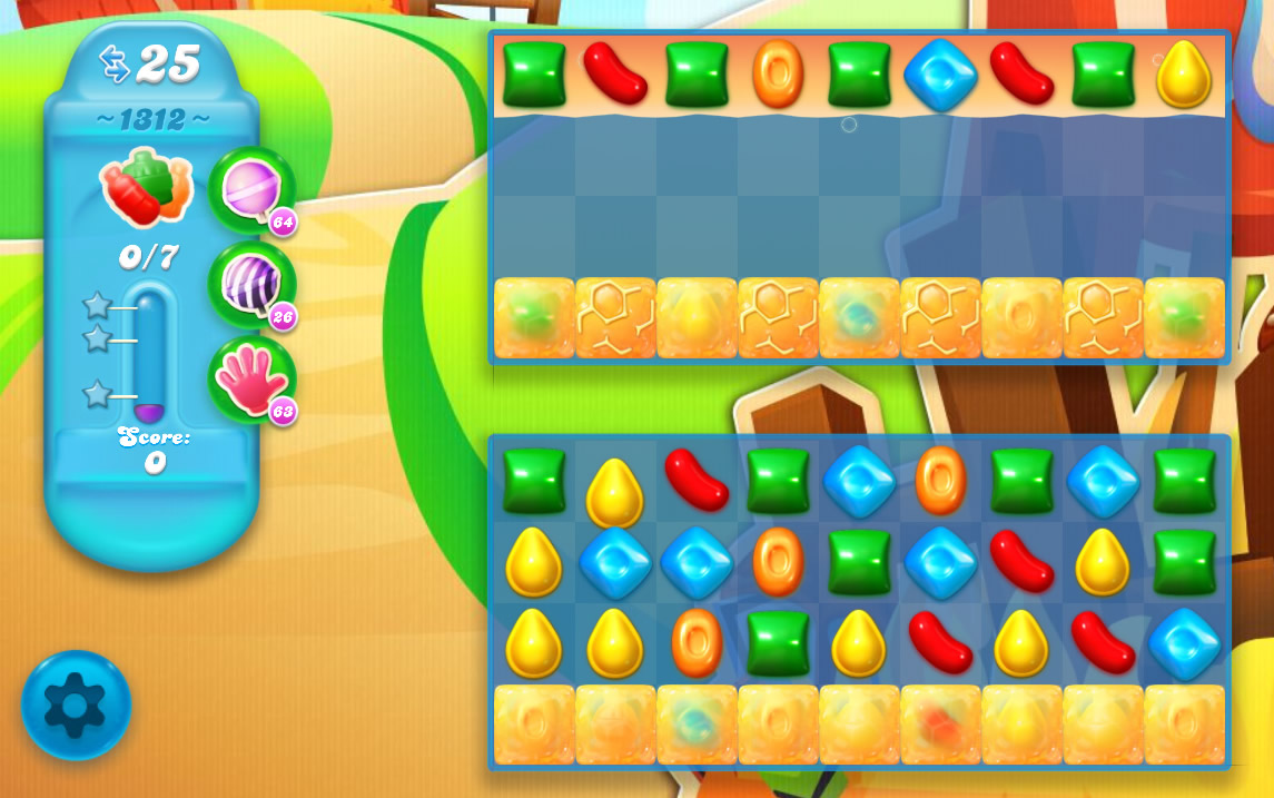 Candy Crush Soda Saga level 1312