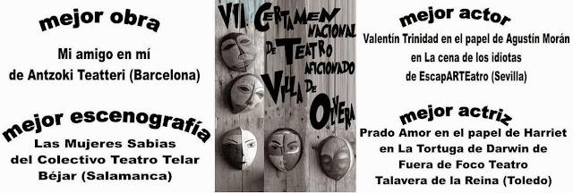 VII Certamen Nacional de Teatro Aficionado Villa de Olvera