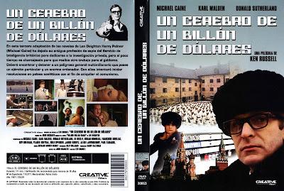 Caratula dvd: Un cerebro de un billón de dolares (1967) - Cine Clásico