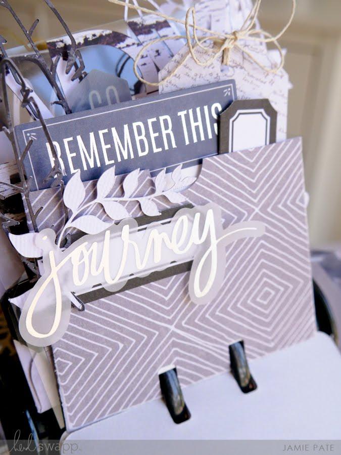 How To Use Heidi Swapp Wolf Pack with MemoryDex by Jamie Pate | @jamiepate for @heidiswapp