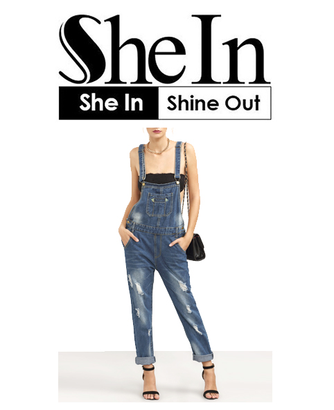 Shein Overall Jeans
