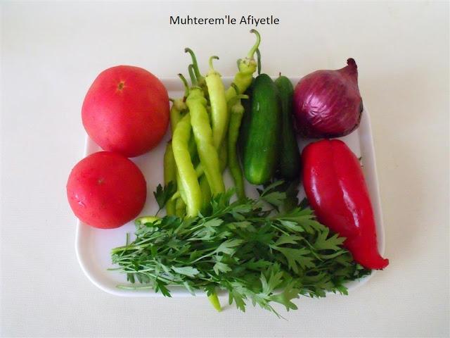 kaşık salata hangi sebzelerden yapılır?