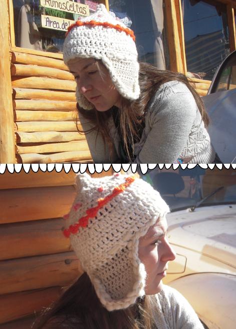 Lanalanitalanon jacinto otoño invierno primavera jpg 471x657 Crochet  tibetano gorro del chavo cfc423a38e0