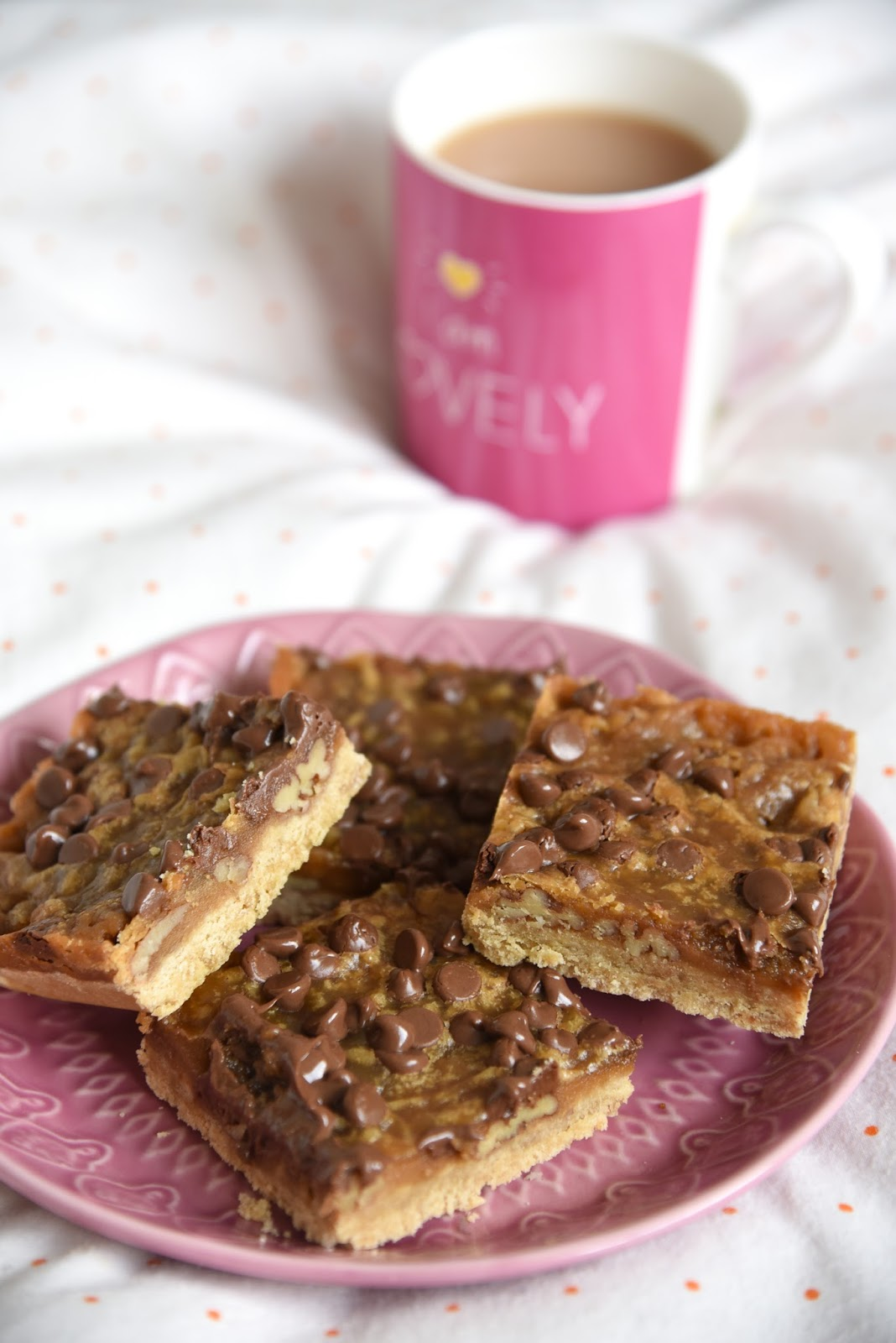 Toffee Turtle Bars Recipe