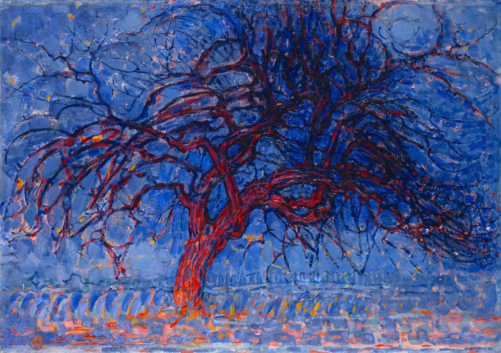 Najpiękniejsze Obrazy świata Czerwone Drzewo