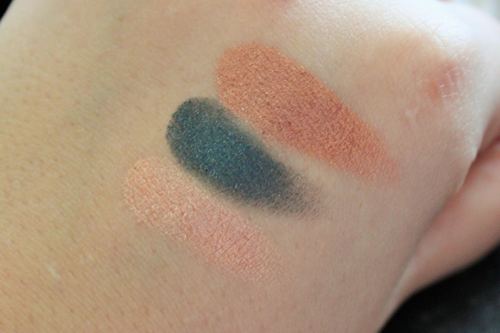 Makeup Geek Foiled Swatches