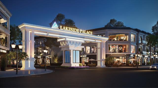 Cổng chào Lakeside Palace